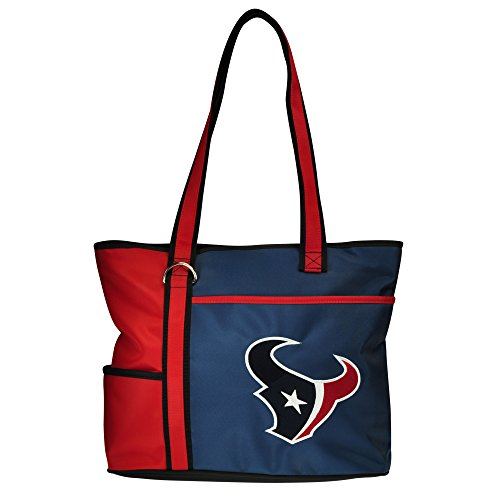 NFL Houston Texans Tote Bag with Embroidered Logo