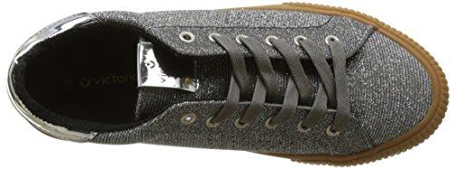 Plata Lurex Deportivo Mujer Victoria 14 Zapatillas Plateado para q4TBC