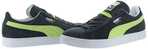 Puma Classic Wedge L, Scarpe da Ginnastica Uomo Dark Shadow/Sharp Green