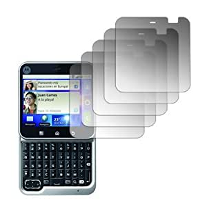 5 Pack of Screen Protectors for Motorola FLIPOUT MB511
