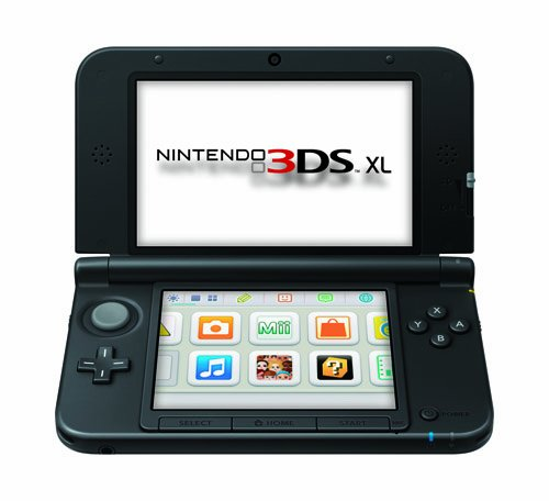 Nintendo 3DS XL - Black [Old Model]]()