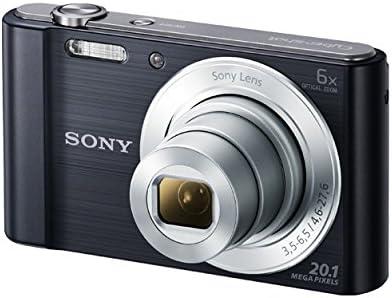 Sony DSC-W810B Appareil Photo Numérique Compact, 20,1 Mpix, Zoom Optique 6x- Noir