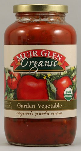 Muir Glen Organic Pasta Sauce Garden Vegetable -- 25.5 fl oz - 2 pc