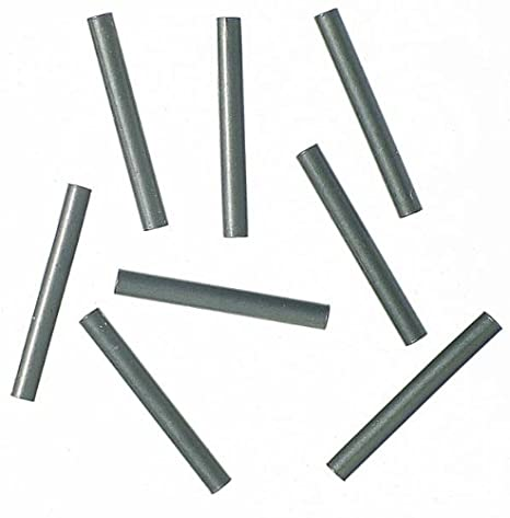Klemmhülsen Quetschhülsen für Hard Mono und Stahlvorfach Inhalt ca 100 Stück