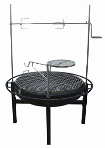 Rancher Fire Pit Charcoal Grill With Rotisserie, 31-Inch ,product_by: pen-and-pencil it#286222195777343