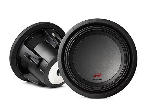 "(2) Alpine R-W10D4 10"" Dual 4 OHM Type-R 2250W Pro Loud SUBWOOFER Speaker Sub"