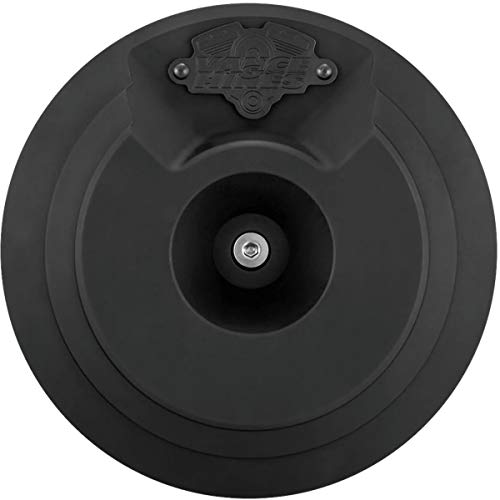 Vance & Hines Naked VO2 Skullcap Air Cleaner Insert (BLACK) ()