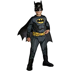 Rubie's Costume Boys DC Comics Batman Costume, Small, Multicolor