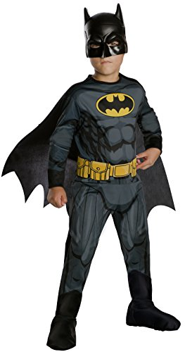 Rubie's Costume Boys DC Comics Batman Costume, Medium, Multicolor