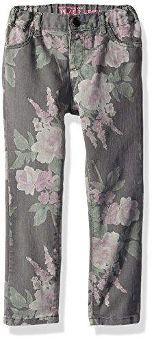 The Children's Place Baby Girls' Skinny Jeans, Dark Gray 87382, 5T by The Children's Place