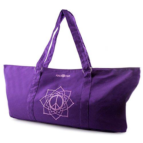 Peace Yoga Yoga Mat Tote Bag - Peace Design