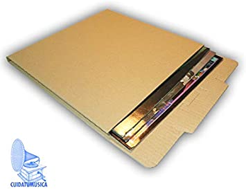 25 Cajas DE Carton para Enviar Discos DE Vinilo Ref. 2125: Amazon ...