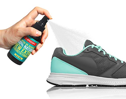 All Natural Shoe Deodorizer Spray – Foot Spray Odor Eliminator for Shoe and Sneaker, Car, Gym Bag, Boxing Glove Deodorizer, Odor Eaters for Shoes, Spray for Stinky Feet, Smell Odor Neutralizer