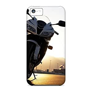 Durable Case For The Iphone 5c- Eco-friendly Retail Packaging(honda Motorbikes)