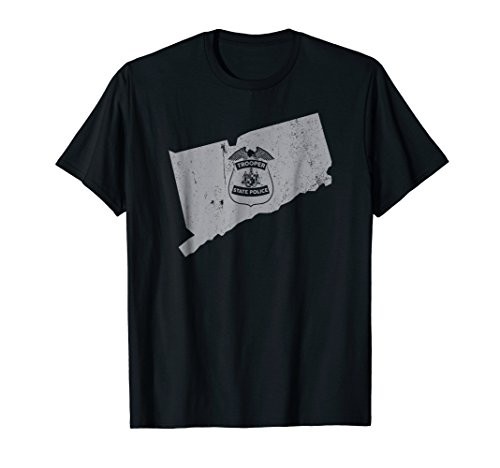 Connecticut State Police Shirt CT State Police Shirt (T Shirt State Police)