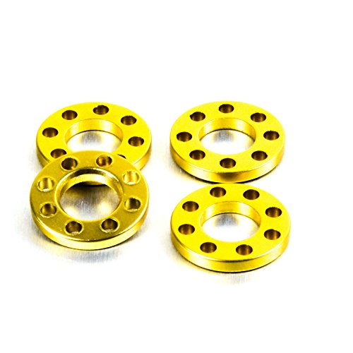 Aluminium Drilled Washer M10 Gold: