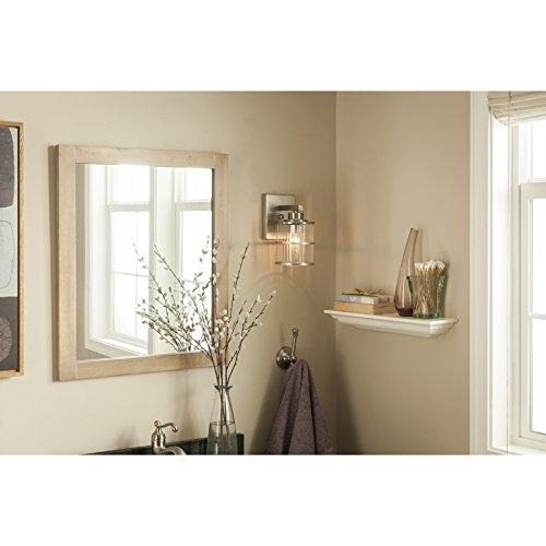 allen + roth Kenross Brushed Nickel Bathroom Vanity Light - - Amazon.com