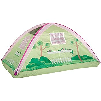 Pacific Play Tents Kids Cottage House Bed Tent Playhouse - Fits Full Size Mattress  sc 1 st  Amazon.com & Amazon.com: Pacific Play Tents Kids Cottage House Bed Tent ...