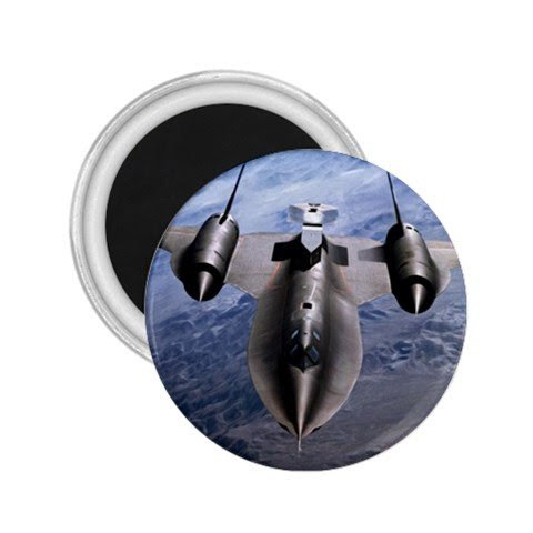 Sr71 Blackbird Spy Plane Souvenir Magnets ()