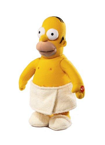 Russ Berrie 35,1 cm Simpsons Macho Man Homer – singt und tanzt zu