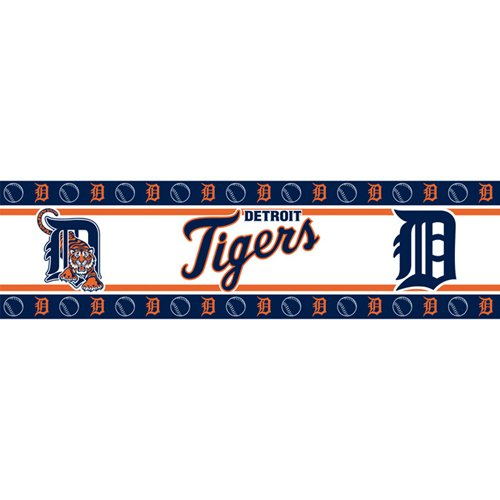 MLB Detroit Tigers Wall - Mlb Wall Border