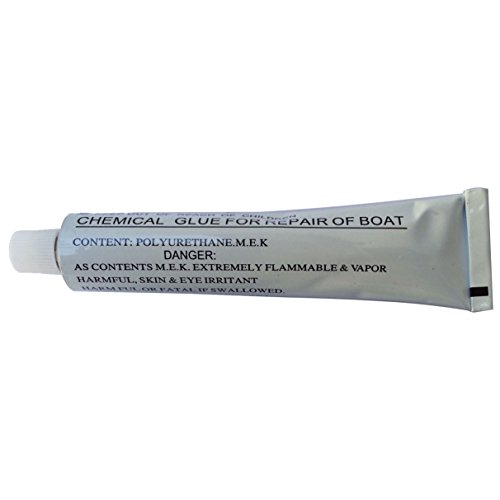 1x 30g 1.05 OZ Inflatable Boat Tube Repairing Glue Accessories Add-on Glue fits for 13' Inflatable kaboats transom Kayaks