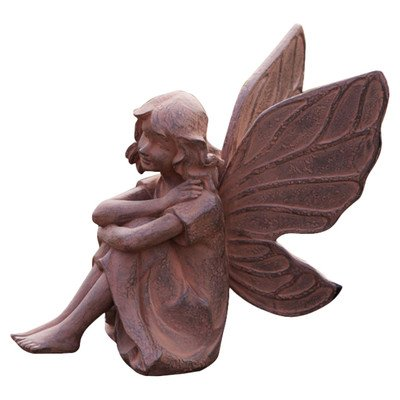 Evergreen Enterprises Earth Fairy Aura Garden Statue