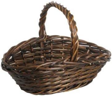 Renoir - Set 3 cestas de Picnic de Sauce - Forma Ovalada - Grande, Mediana, Pequeña - Caja de Regalo: Amazon.es: Hogar