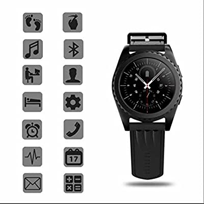 Monitor de ritmo cardíaco reloj inteligente, Smartwatch con ...