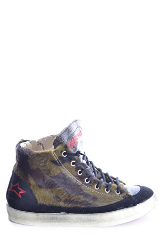 Ishikawa Damen Mcbi156013o Multicolour Stoff Hi Top Sneakers