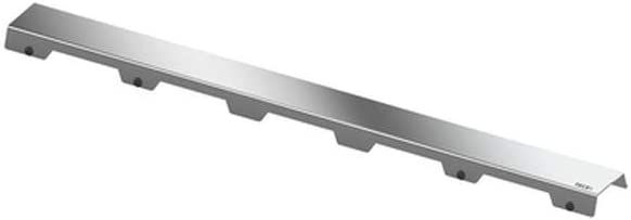 "L/änge 70 cm; Edelstahl poliert; sehr belastbar TECE 600782 drainline Designrost /""steel II/"" silber"
