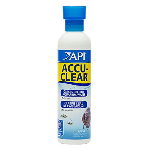 API ACCU-CLEAR Freshwater Aquarium Water Clarifier 8-Ounce Bottle from API