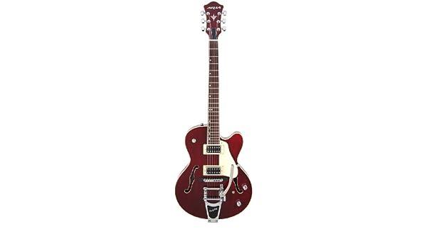 Aria FA-75 - Guitarra eléctrica, color rojo: Amazon.es: Instrumentos ...