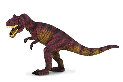 CollectA Prehistoric Life Tyrannosaurus Rex Toy Dinosaur Figure - Authentic Hand Painted & Paleontologist Approved (Tyrannosaurus Diorama)