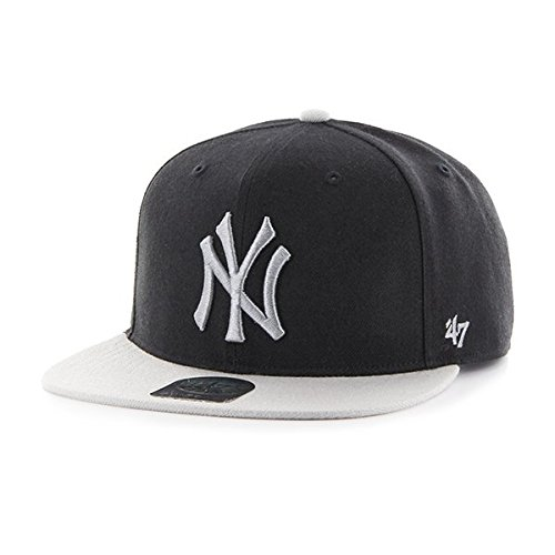 Image Unavailable. Image not available for. Colour   47 Forty Seven Brand  MLB New York Yankees Sure Shot 2 Tone Snapback Cap Navy.   b8ff14b3811