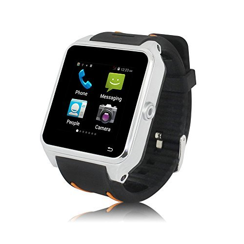 ZGPAX S82 Smartwatch with Android 4.4 3G GPS Bluetooth WiFi MTK6572 Dual Core Smartphone Watch Phone 1.54'' by ZGPAX