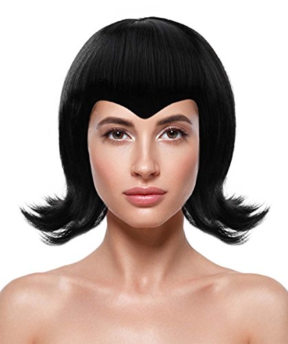 Halloween Party Online Mavis Wig Resort Transylvania Black Costume Cosplay Kids HW-162