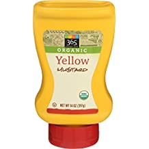 365 Everyday Value, Organic Yellow Mustard, 14 Ounce