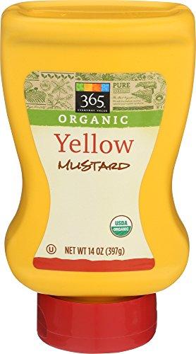 - 365 Everyday Value, Organic Yellow Mustard, 14 oz