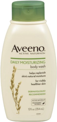 Aveeno Daily Moisturizing Body Wash, 12 Ounce (Pack of 2) ()