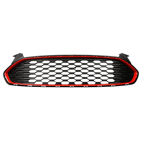 Ford Fusion Bumper Grille - Ford Fusion Mustang Style Grille Grill DS7Z8200BA, Front Upper Bumper, Compatable with Ford Fusion 2013-2015