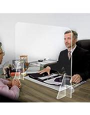 Foyar - Protector de nicho (16 x 16 pulgadas, portátil y ligero, protector de pantalla de cristal flexible para escritorio, caja, oficina)
