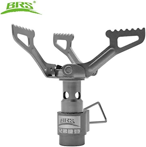 BRS BRS-3000T New Super Lightweight Only 25g One-Piece Titanium Alloy Outdoor Camping Stove Gas Stove Portable Folding Stove