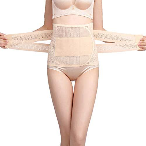 7a1f83cb34 Cindeal Postpartum Belly Wrap Recovery Belly Waist Support Girdle Shapewear  Body Shaper
