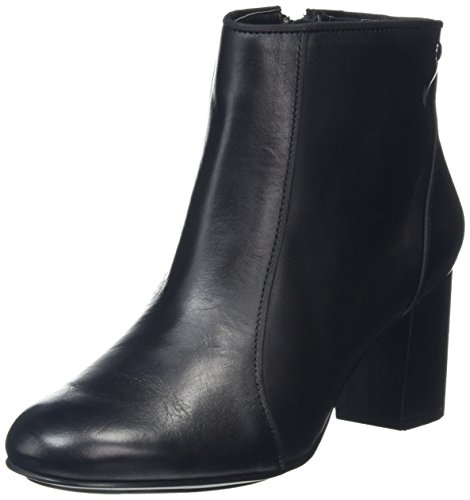 Hush Puppies Womens Melodi Langdon Boot Black Leather WL76m6Ws