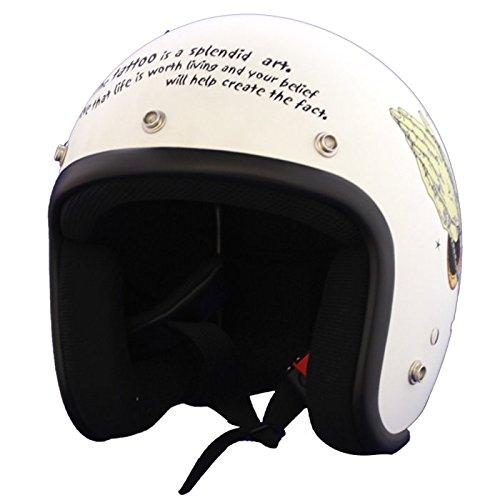 BLOODMESSAGE jet helmet MARIA flat vanilla L size BRH-01 by Mountain castle