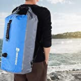 Cocoarm 60L Floating Waterproof Dry Bag, Backpack for Kayaking, Rafting, Boating, Swimming, Water Sports, Fishing, Camping, Hiking