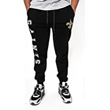Icer Brands NFL Men's Jogger Pants Active Basic Fleece Sweatpants, Team Color