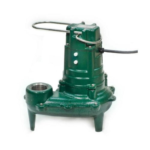 Zoeller 267-0002 Model N267 Waste-Mate Non-Automatic Cast Iron Single Phase Submersible Sewage/Effluent - Gpm Manual Submersible Sump Pump