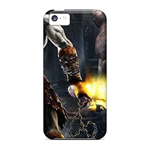 Premium God Of War Back Cover Snap On Case For Iphone 5c